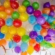 Воздушные шары на выписку из роддома фото