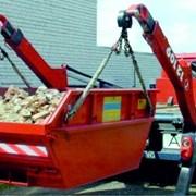 Вывоз строительного мусора 8 и 27 кубами фото