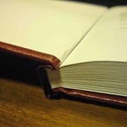 Твердый переплет книг,дипломов. фото