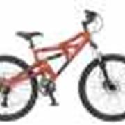 """Велосипед 26"""" бордовый Russbike Delta фото"""