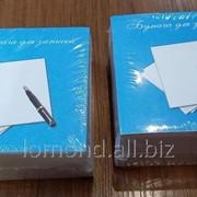 Бумага для записей 91*91 кубик фото