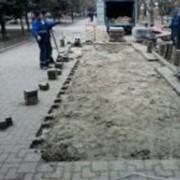 Восстановление тротуарного покрытия фото