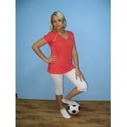 Одежда спортивная (фуфайка женская и бриджи с кнопками) фото