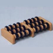 Массажер деревянный для ног Счеты Артикул МА4123 фото