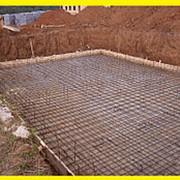 Строительство ленточного фундамента м2 фото