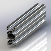 Конструкционный профиль 30x60 G-Slot Silver