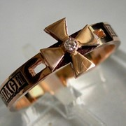 Кольцо из золота фото
