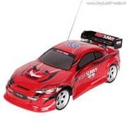 Р/У Автомобиль MioshiTech DRIFTING RACER 1:18, 4x4, для дрифтинга, до 15 км/ч красный (24.7 см, пульт с колесом, съёмный корпус, аккум. в комплекте) фото
