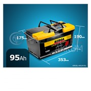 Батарея Berga Basic-block 95Ah обратная полярность фото