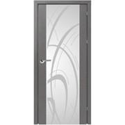 Дверь межкомнатная Милано-2, триплекс-сатин фото