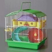 Клетка для грызунов HOMеZOO №014 эмаль (23*17*25) (1*10) нк-086 014#
