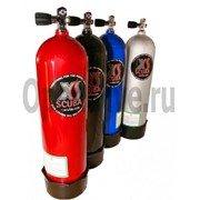 Баллон алюминиевый XS Scuba Luxfer от 2 до 12 литров с вентилем фото