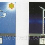 Автономное освещение улиц, парков, скверов на солнечных батареях фото