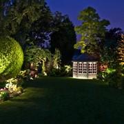 Освещение сада декоративное фото