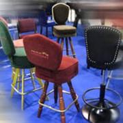 Оборудование для казино. Мебель для для игрового бизнеса, изготовление. Стулья с логотипом заведения. фото