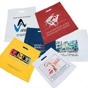 Пакеты ПВД с прорубной ручкой фото
