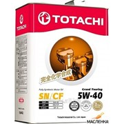 Масло моторное синтетическое TOTACHI Grand Touring Fully Synthetic SN 5W40, 4л фото