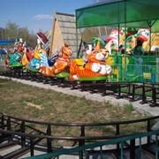 Детская железная дорога Веселые зверушки фото