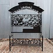 Мангал Птицы М90К (с печью под казан) фото