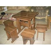 Виготовлення столів дерв'янних з лавками