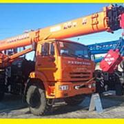 Аренда Автокрана Ивановец 25 тонн в Краснодаре фото