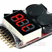 Индикатор напряжения батареи IMAXRC 1-8S Li-Po фото