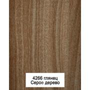 Кухонный пластиковый фасад 4266 серое дерево фото