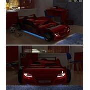 Кровать-машина R800 night light с подсветкой фото