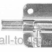 Задвижка накладная для окон и мебели ШП-10 КМЦ, цвет коричневый металлик/цинк, 30мм Код:37743-30 фото