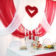 Декор свадебного зала фото