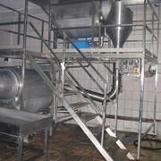 Установка частичной посолки сырного зерна в потоке фото