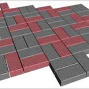 Высокопрочная тротуарная плитка. фото