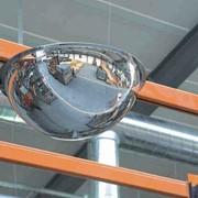 Зеркало купольное подвесное фото