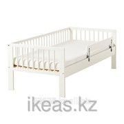Каркас кровати с реечным дном, белый ГУЛЛИВЕР фото