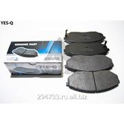Колодка дискового тормоза передняя Yes-Q Ceremic, кросс_номер 581013ED00 фото