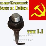 Болт анкерный тип 1.1 м36х710 09г2с ГОСТ 24379.1-80. фото