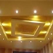 гипсокартонные потолки любой сложности фото