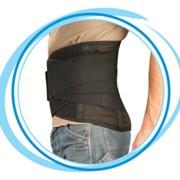 Бандаж противорадикулитный усиленный ( грудо-поясничный корсет полужёсткой фиксации) (Т-53). фото