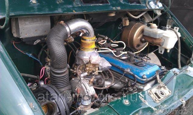 Бампер передний на Chevrolet Aveo (T250)