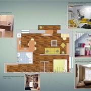 Дизайн-проект квартир/бутиков с 3D-визуализацией фото