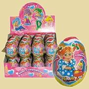 Шоколадное яйцо Любимые игрушки, 6*24 20гр фото