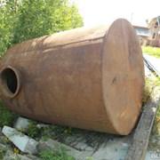 Бочка металлическая 5 м.куб №26 фото