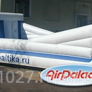 Рекламный аттракцион Банджи - бол Балтика фото