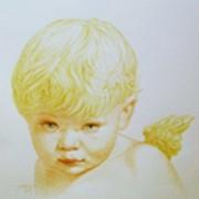 Портреты акварелью фото