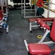 Покрытия для тренажерных залов и залов тяжелой атлетики фото