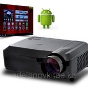 Проектор Смарт 2000 люмен, LED, поддержка 3D, Wi-Fi Android 4.0 HD фото