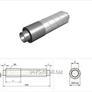 Концевой элемент стальной в оцинкованной трубе-оболочке d=530 мм, s=7 мм, L=210 мм фото