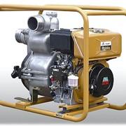 Мотопомпа дизельная для сильнозагрязненных жидкостей PTD 306 T фото