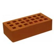 Кирпич керамический строительный одинарный щелевой гладкий М-150, 250х120х65 фото