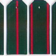 Погоны ВС для офисной формы с пришивными просветами ткань рип-стоп фото